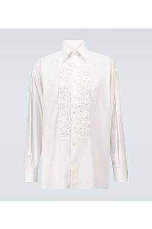 Tom Ford Ruched long-sleeved formal shirt