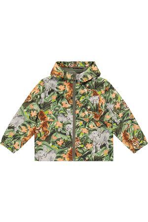 Kenzo Printed hooded jacket