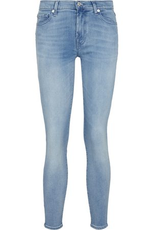 7 for all Mankind Women Boyfriend - The Skinny B(air) mid-rise jeans