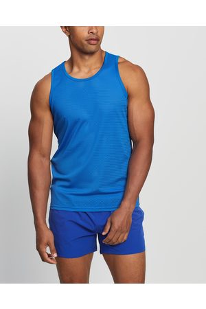 TEAMM8 Advantage Mesh Tank - Muscle Tops (Royal ) Advantage Mesh Tank
