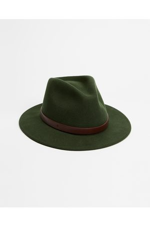 Brixton Adjustable Messer Fedora - Hats (Moss) Adjustable Messer Fedora