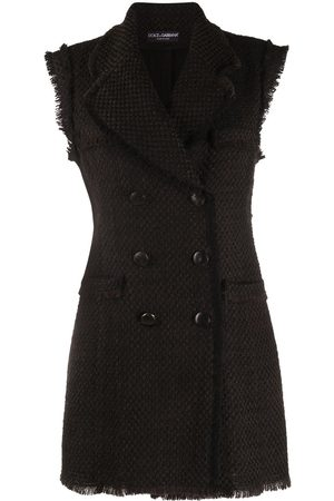 Dolce & Gabbana Double-breasted wool mini-dress
