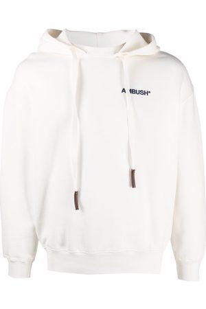 AMBUSH Hoodies - Logo-print cotton hoodie