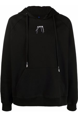 Ader Error Logo-embroidered hoodie