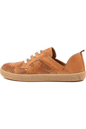 SUPERSOFT Women Casual Shoes - Harlow Su Tan Sneakers Womens Shoes Casual Casual Sneakers