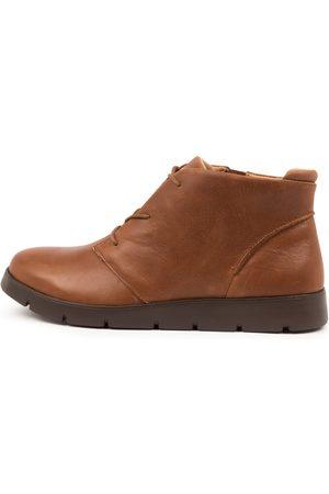 Ziera Melbourne W Zr Cognac Boots Womens Shoes Casual Ankle Boots