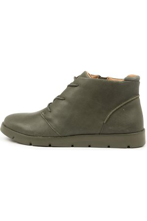 Ziera Women Ankle Boots - Melbourne W Zr Army Boots Womens Shoes Casual Ankle Boots