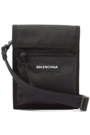 Balenciaga Men Wallets - Explorer Recycled-nylon Pouch - Mens