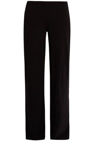 SKIN Double-layer Pima-cotton Pyjama Trousers - Womens