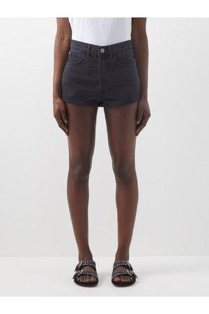 Raey Rivet Cut-off Denim Shorts - Womens