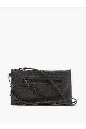 Balenciaga Neo Classic Small Grained-leather Pouch - Mens
