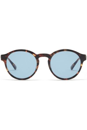 817 Blanc LNT Round Tortoiseshell-acetate Sunglasses - Mens - Tortoiseshell