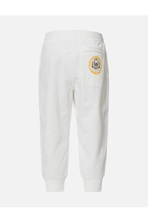Evisu Daruma Label Relax Cropped Sweatpants