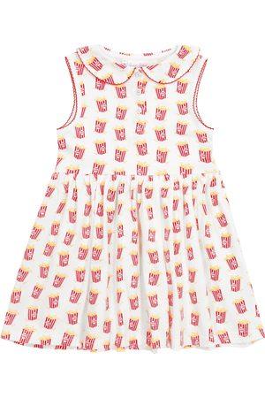 Rachel Riley Printed stretch-cotton dress