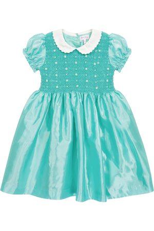 Rachel Riley Floral smocked dress