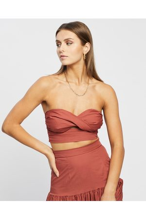 Runaway The Label Ayla Top - Cropped tops (Rust) Ayla Top