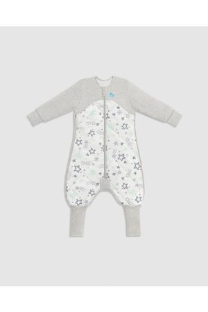 Love to Dream Organic Sleep Suit 3.5 Tog - Sleep & Swaddles (Mint & Stars) Organic Sleep Suit 3.5 Tog