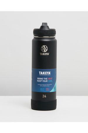 Takeya 700ml Insulated Stainless Steel Bottle (24oz) - Water Bottles (Onyx) 700ml Insulated Stainless Steel Bottle (24oz)