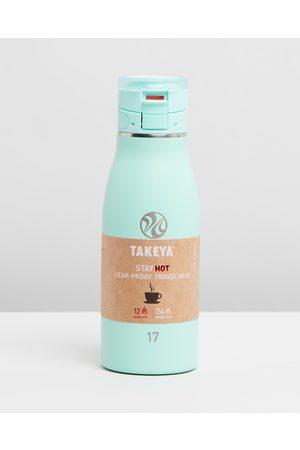 Takeya 500ml Traveller Mug - Water Bottles (Aqua) 500ml Traveller Mug