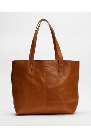 Stitch & Hide Emma Tote Bag - Bags (Almond) Emma Tote Bag