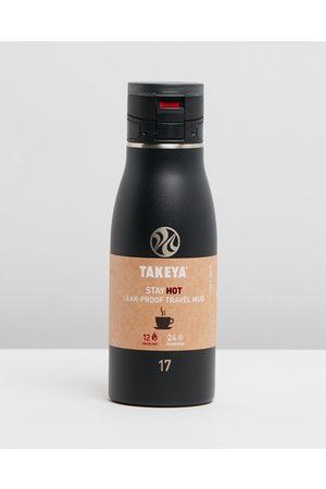 Takeya Sports Equipment - 500ml Traveller Mug - Water Bottles (Onyx) 500ml Traveller Mug