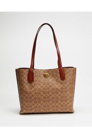 Coach Willow Tote - Handbags (Tan Rust) Willow Tote