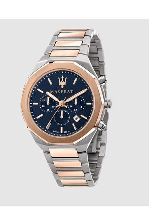 Maserati Stile Two Tone Chronograph - Watches (Two Tone) Stile Two Tone Chronograph