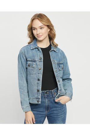 DRICOPER DENIM Dazzler Denim Jacket - Denim jacket (Blur ) Dazzler Denim Jacket