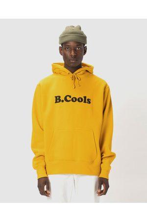 Barneys B.Cools Retro Hood Sweatshirt - Crew Necks (Mustard) B.Cools Retro Hood Sweatshirt