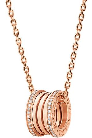 Bvlgari Necklaces - B.zero1 18K & Diamond Pendant Necklace