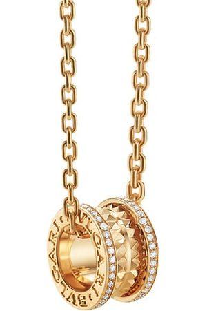Bvlgari B.zero1 Rock 18K & Diamond Pendant Necklace