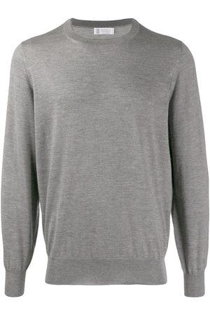 Brunello Cucinelli Men Sweatshirts - Crew neck jumper