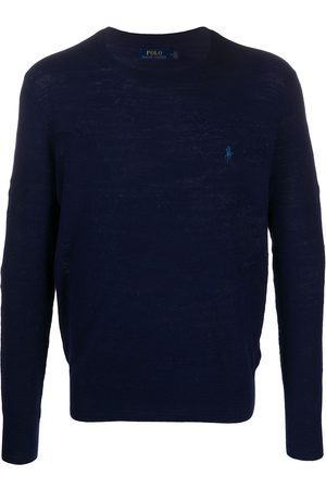Polo Ralph Lauren Men Sweaters - Embroidered logo knitted jumper