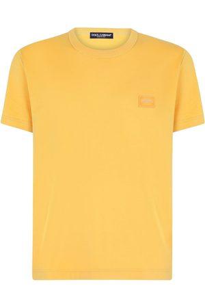 Dolce & Gabbana Men Short Sleeve - Logo-patch T-shirt