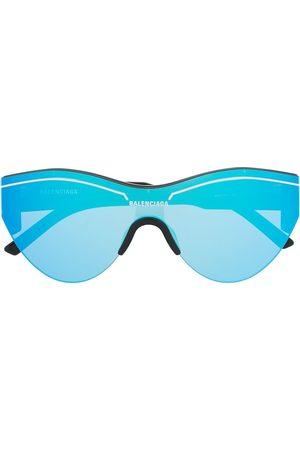 Balenciaga Sunglasses - Mirrored oversized sunglasses