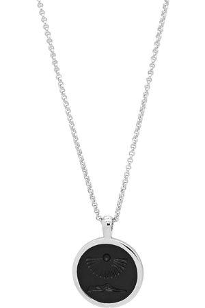 """TOM WOOD Men Necklaces - Clytia onyx-embellished pendant 18"""""""