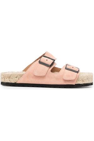 MANEBI Women Sandals - Nordic double-buckle sandals