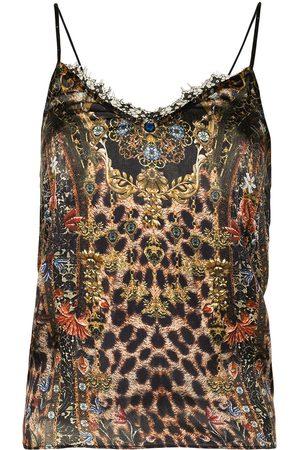 Camilla Women Cami Tops - Abingdon Palace lace-trim cami top