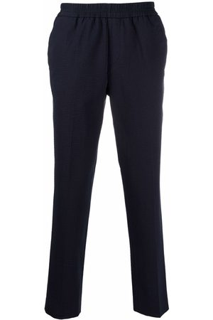 Harmony Men Skinny Pants - Textured slim-fit trousers