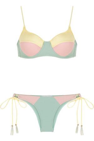 Brigitte Colour-block bikini set