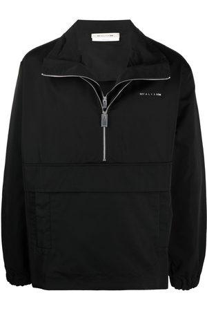 1017 ALYX 9SM Men Sports Jackets - Logo plaque high-neck windbreaker