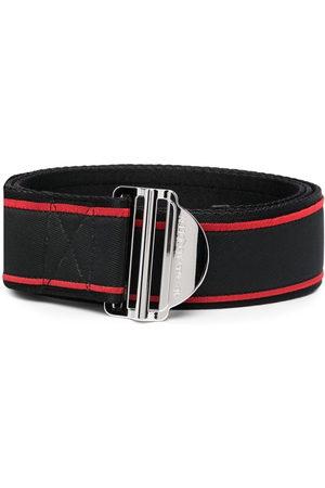 Alexander McQueen Men Belts - Logo-print belt