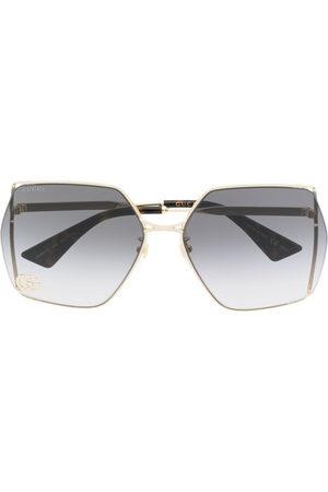 Gucci Eyewear Double G oversized-frame sunglasses
