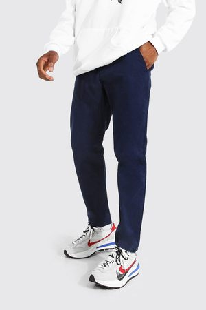 Boohoo Men Chinos - Mens Navy Slim Fit Chino Trouser
