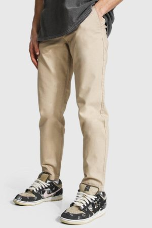 Boohoo Mens Stone Slim Fit Chino Trouser
