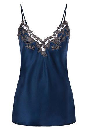 La Perla Women Slips - Silk Camisole with Frastaglio