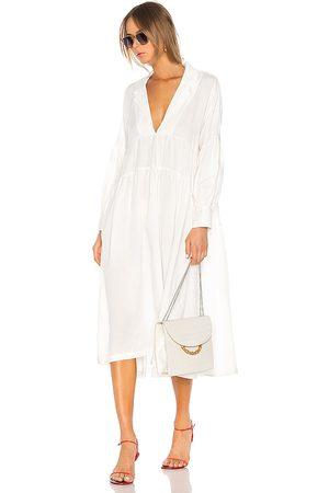 L'Academie The Celina Midi Dress in .