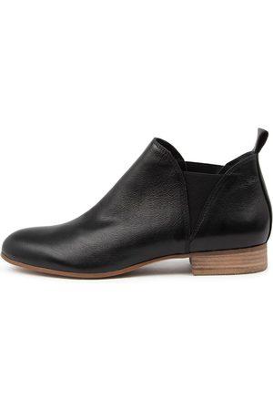 Django & Juliette Foe Lrg Natural Heel Boots Womens Shoes Casual Ankle Boots