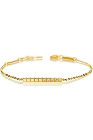 Chopard Ice Cube Diamond & 18K Yellow Bracelet