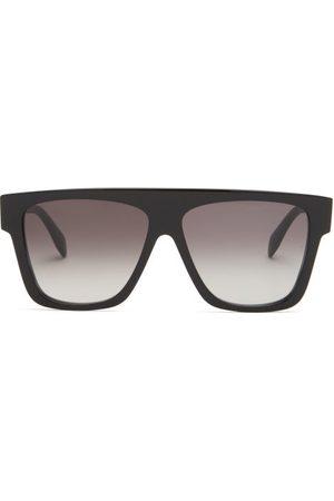 Alexander McQueen Oversized D-frame Acetate Sunglasses - Womens